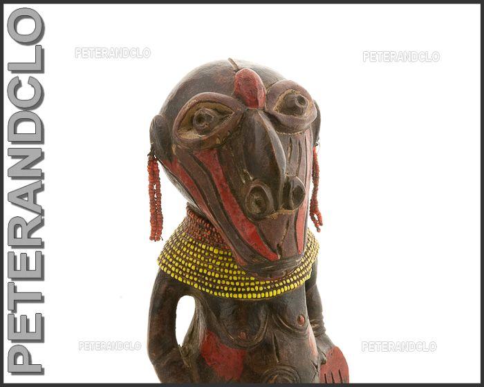 Terra cotta songye statues africaines statue ethnique for Art premier