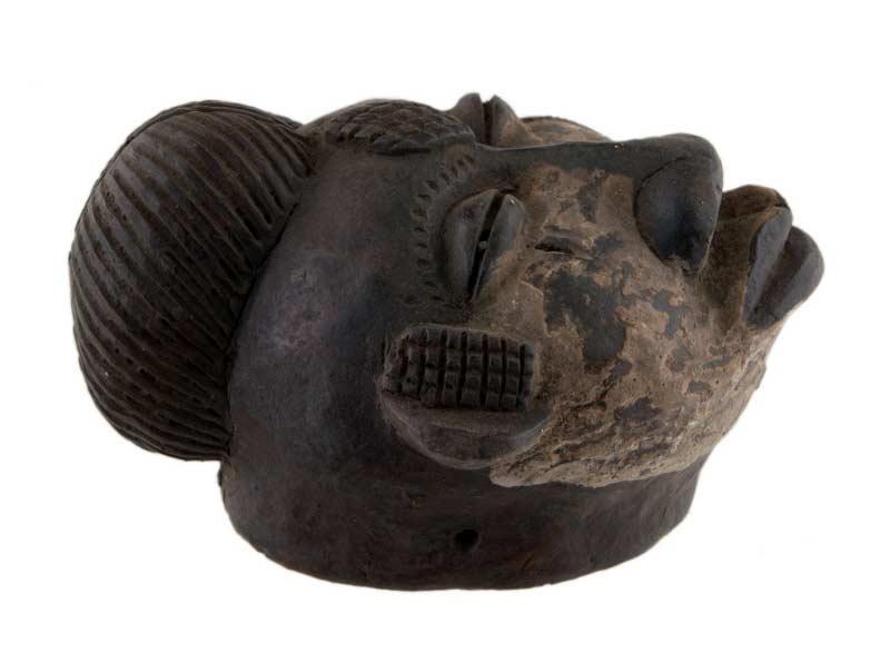Masque africain passeport punu pounou terre cotta art premier for Art premier