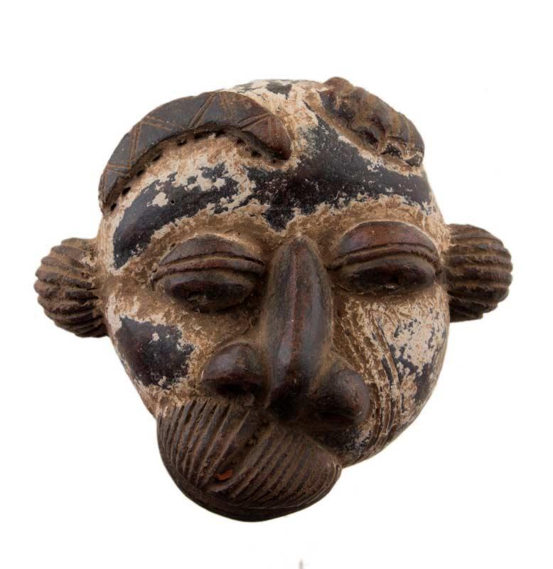 Masque africain passeport malade terre cotta art premier for Art premier