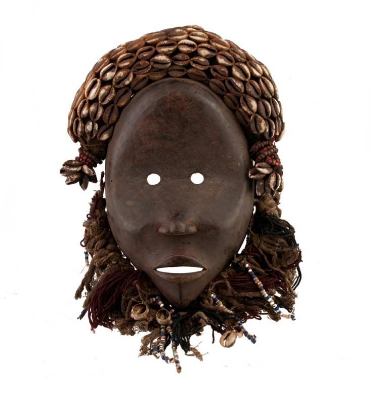 Masque africain dan nguere de course art tribal masques for Art premier