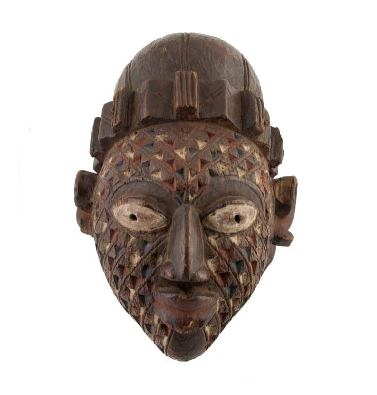 Masque africain gelede yoruba nigeria masques africains for Art premier