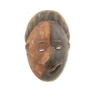Masque du Malade Pende Art Africain Mask Rdc  7103